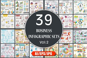 Business Infographics Sets - Vol 2