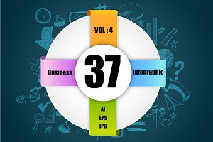 Business Infographics Sets - Vol 4