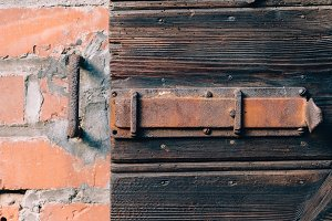 Details of an old timbered House