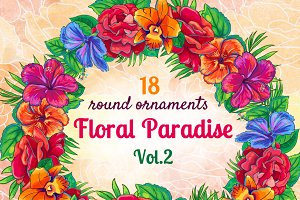 Floral Paradise Vol.2: Ornaments