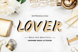 LOVER - Font