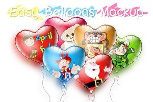 Balloons Mockup :)