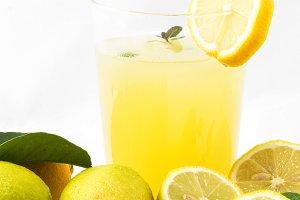 Lemons isolated on white backgroun