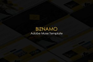 Biznamo Multi-purpose Muse Template