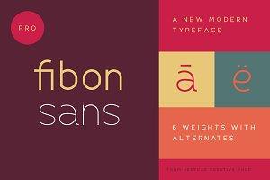 Fibon Sans Font Family