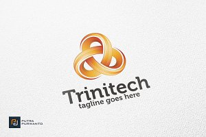 Trinitech / Triangle - Logo Template