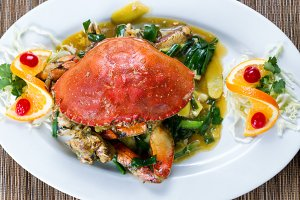 Crab and Green Onion Sauce