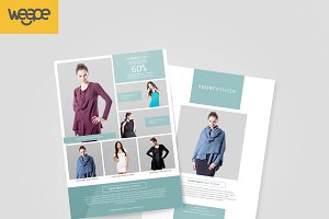 Fashion Promotion Flyer