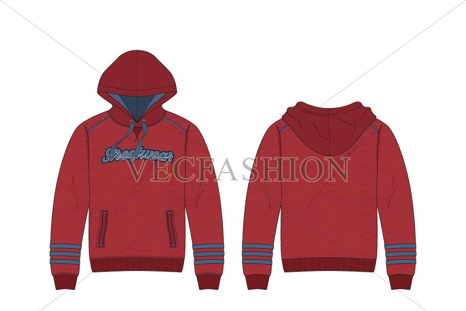0540939b0 Men Fashion Hoodie Fashion Flat ~ Illustrations ~ Creative Market