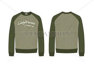 Classic Round Neck Sweatshirt