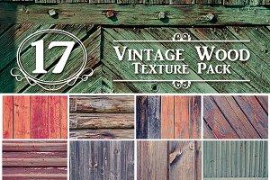 Vintage Wood Texture Pack