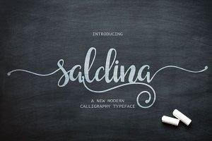 Saldina Script