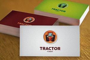 tractor funny (2 colors option)