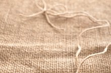Love hearts, Valentines Day. Heart made of straw
