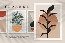 Florere - Organic Abstract Shapes