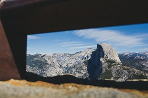 Yosemite Half Dome Framed