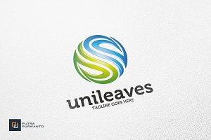 Unileaves / Nature - Logo Template