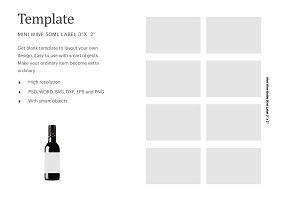 Fireball Label Template from images.creativemarket.com