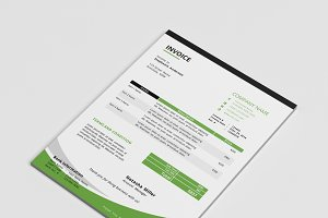 MS Word corporate invoice template