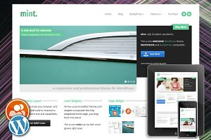 Mint - Responsive WordPress Theme