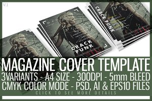 Magazine Cover Template 2