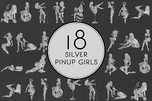 Silver Pin Up Girls