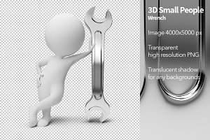 3D Small People - Wrench