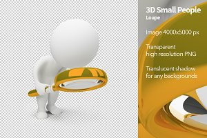 3D Small People - Loupe