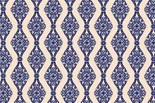 3 Ornamental Seamless Patterns