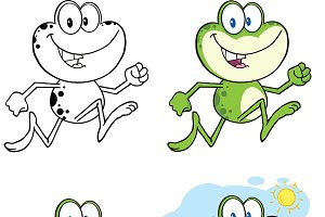 Frog Character Collection - 9
