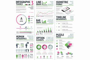 Infographic Tools Vector Set 3