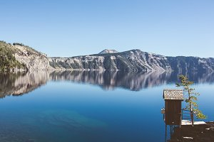 Crater Lake Outhouse