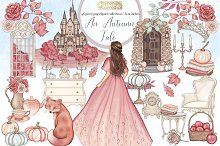 An Autumn Tale Clipart collection