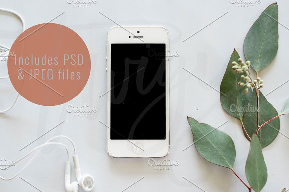 Download Styled Stock Photo | Phone Mockup