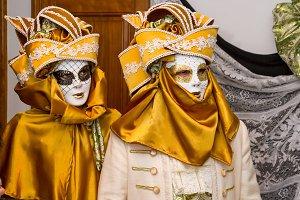 Carnival. Venetian style masks (I)