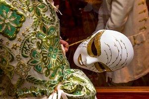 Carnival. Venetian style masks (V)