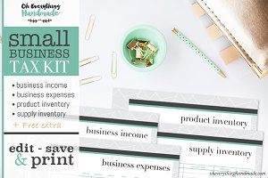 Small Business Tax Kit printable PDF