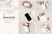 Summer Sunlight  mockups & photos II by  in Mockups
