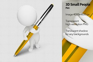 3D Small People - Pen