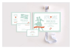 Bliss Wedding Invitation Suite