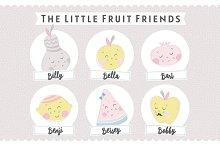 The Little Fruit Friends