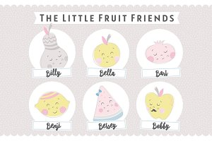 The Little Fruit Friends