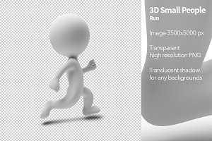 3D Small People - Run