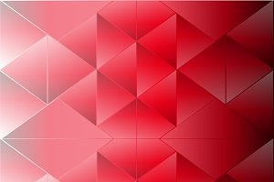 Abstract red background triangle