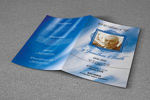 Funeral Program Template - T331