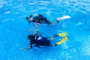 Scuba diving baptism (2)