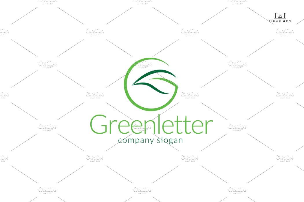 Green Letter Logo ~ Logo Templates ~ Creative Market