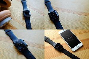 4 Apple Watch Mockups 1