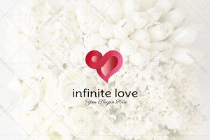 Heart - Infinity Love Logo