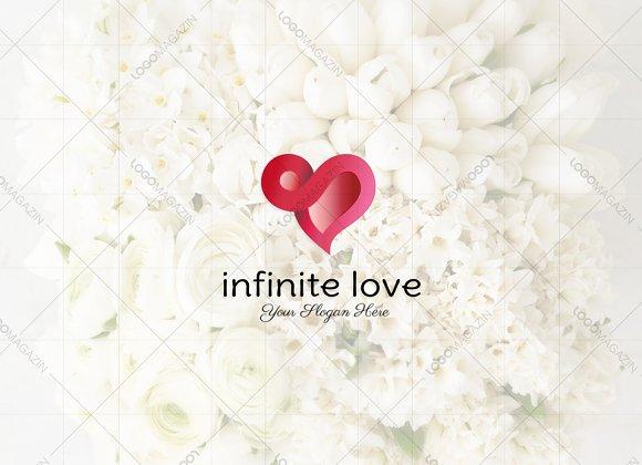 Heart - Infinity Love Logo